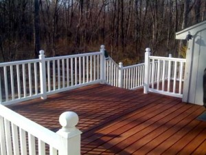 Deck Fence Painting Belle Meade